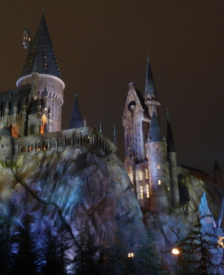 Hogwarts Castle - Obrázkek zdarma pro Nokia 300 Asha
