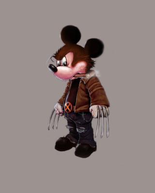 Mickey Wolverine Mouse - Obrázkek zdarma pro Nokia C2-06