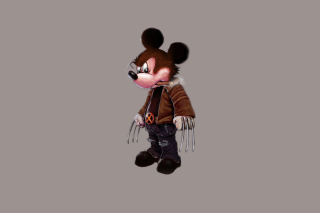 Mickey Wolverine Mouse Wallpaper for Android, iPhone and iPad
