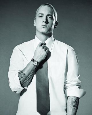 Eminem Marshall Mathers III - Obrázkek zdarma pro 750x1334