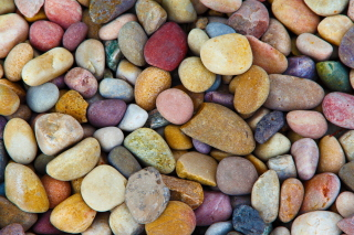 Colorful Pebbles Picture for Android, iPhone and iPad