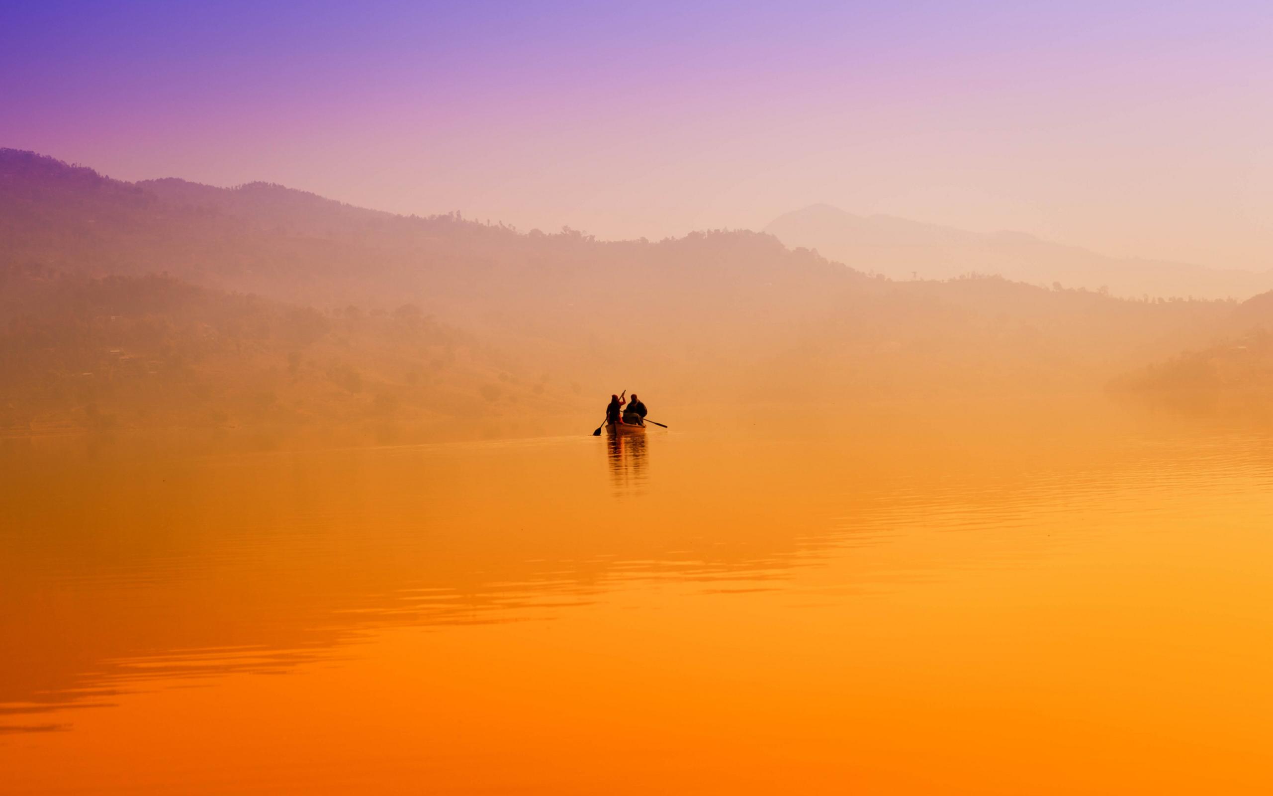Рассвет утренний туман  № 3795909 загрузить