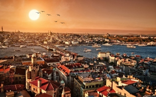 Istanbul Background for Android, iPhone and iPad
