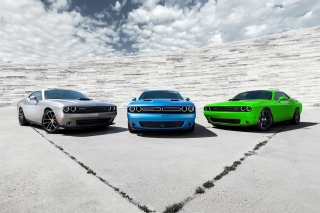 2015 Dodge Challenger Cars Background for Android, iPhone and iPad