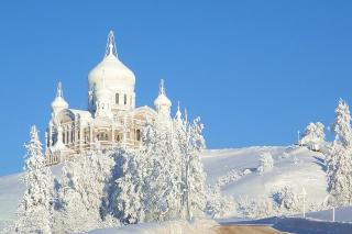 Winter Church - Obrázkek zdarma pro Samsung Galaxy S3