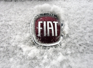Fiat Car Emblem Background for Android, iPhone and iPad