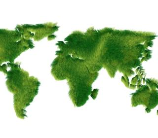 Greenpeace Symbols Recycle - Obrázkek zdarma pro 208x208