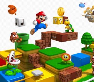 Super Mario 3D - Obrázkek zdarma pro iPad Air