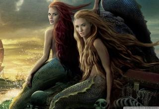Pirates Of The Caribbean Mermaids - Obrázkek zdarma pro 1440x1280