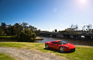 Ferrari 458 Italia Picture for Android, iPhone and iPad