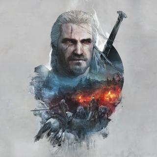 Geralt of Rivia Witcher 3 - Obrázkek zdarma pro iPad