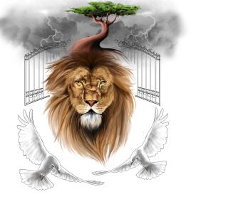 Lion Painting - Obrázkek zdarma pro iPad