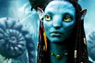 Avatar Neytiri - Obrázkek zdarma pro 480x320