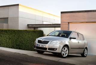 Skoda Fabia Wallpaper for Android, iPhone and iPad
