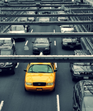 New York City Yellow Cab - Obrázkek zdarma pro Nokia Asha 303