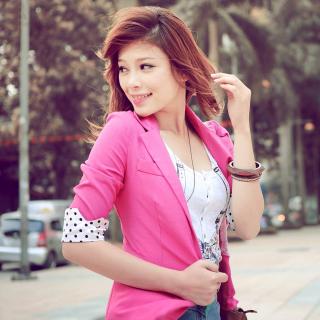 Asian Redhead Girl - Obrázkek zdarma pro iPad 3