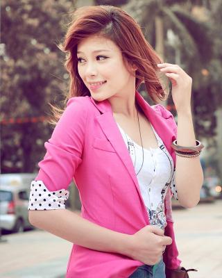 Asian Redhead Girl - Obrázkek zdarma pro Nokia C7