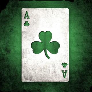 Shamrock Card Ace - Obrázkek zdarma pro iPad 2