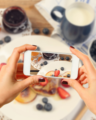 Cake for Instagram - Obrázkek zdarma pro 352x416