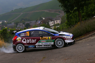 Ford Fiesta R5 WRC Background for Android, iPhone and iPad