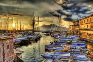 Sunrise In Naples Wallpaper for Android, iPhone and iPad