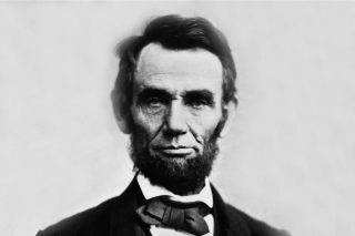 Abraham Lincoln Background for Android, iPhone and iPad