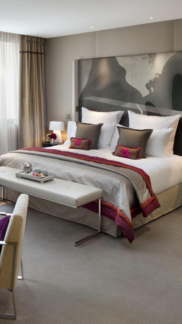Bedroom Interior Design Wallpaper For 640x1136