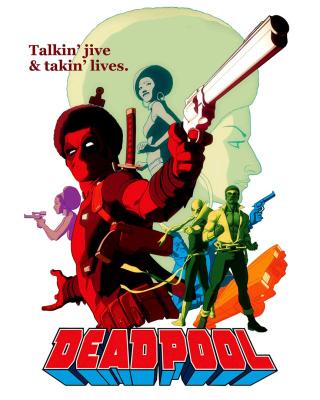 Deadpool - Obrázkek zdarma pro Nokia C7