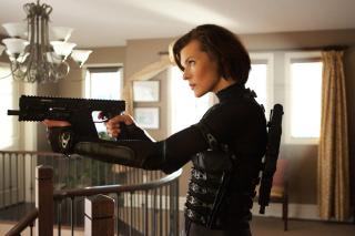 Resident Evil: Retribution - Obrázkek zdarma pro LG P970 Optimus