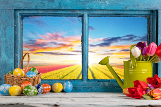 Easter still life Background for Android, iPhone and iPad