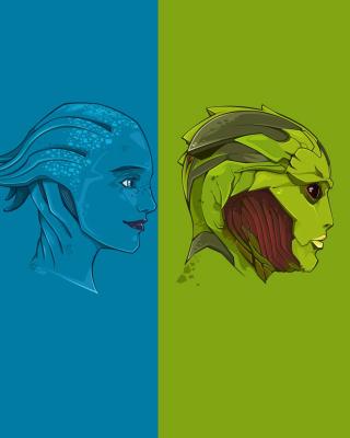 Mass Effect Art - Obrázkek zdarma pro 360x400