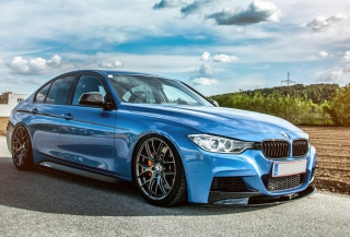 BMW 3 series (F30) Background for Android, iPhone and iPad