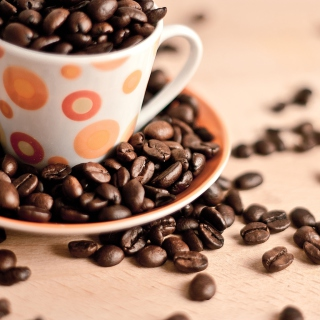 Coffee beans - Obrázkek zdarma pro iPad 2