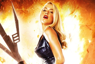Machete Kills Amber Heard Background for Android, iPhone and iPad