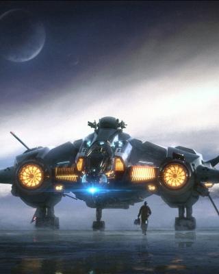 Star Wars Battlefront 3 Fighter Jet - Obrázkek zdarma pro 240x320