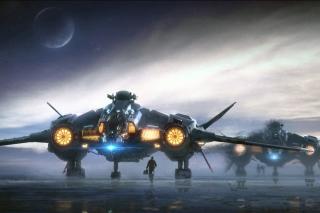 Star Wars Battlefront 3 Fighter Jet - Obrázkek zdarma pro Widescreen Desktop PC 1680x1050