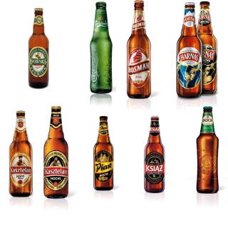 Beer Brands, Bosman, Ksiaz, Harnas, Kasztelan - Obrázkek zdarma pro 128x128