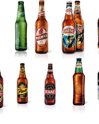 Beer Brands, Bosman, Ksiaz, Harnas, Kasztelan - Obrázkek zdarma pro 360x640