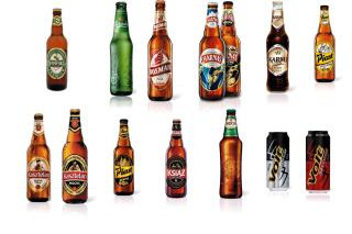 Beer Brands, Bosman, Ksiaz, Harnas, Kasztelan - Obrázkek zdarma pro HTC One