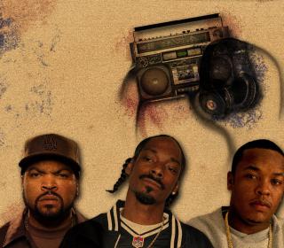 Ice Cube, Snoop Dogg - Obrázkek zdarma pro iPad Air