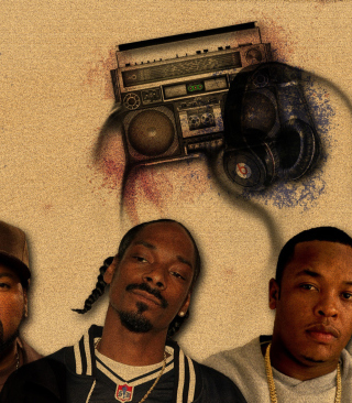 Ice Cube, Snoop Dogg - Obrázkek zdarma pro iPhone 5