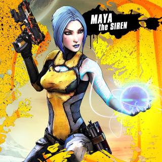 Maya the Siren, Borderlands 2 - Obrázkek zdarma pro 208x208