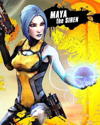 Maya the Siren, Borderlands 2 - Obrázkek zdarma pro iPhone 6