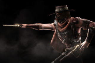 Mortal Kombat 10, Erron Black Wallpaper for Android, iPhone and iPad