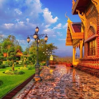 Luxury countryside - Obrázkek zdarma pro 128x128