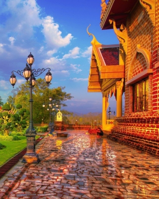 Luxury countryside - Obrázkek zdarma pro 240x400