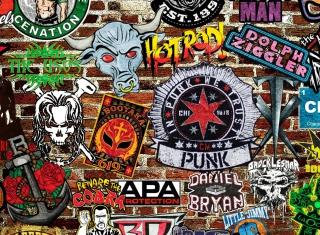WWE Logos: Hot Rod, Punk - Obrázkek zdarma pro 1280x960