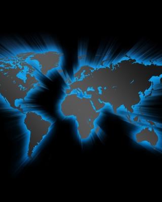 Earth Map - Obrázkek zdarma pro 480x800