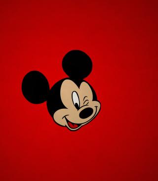 Mickey Winking - Obrázkek zdarma pro Nokia X3