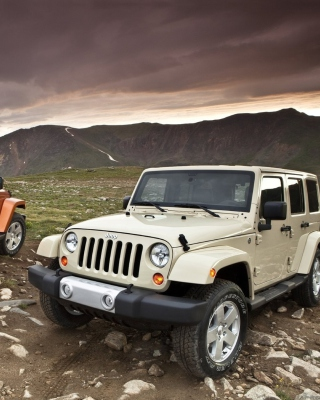 Jeep Wrangler - Obrázkek zdarma pro 480x800